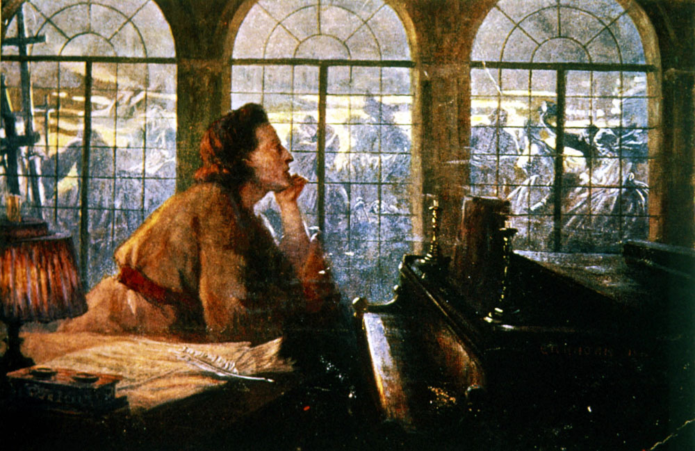 Portrait of Fryderyk Chopin, photo: ©Rue des Archives / Varma