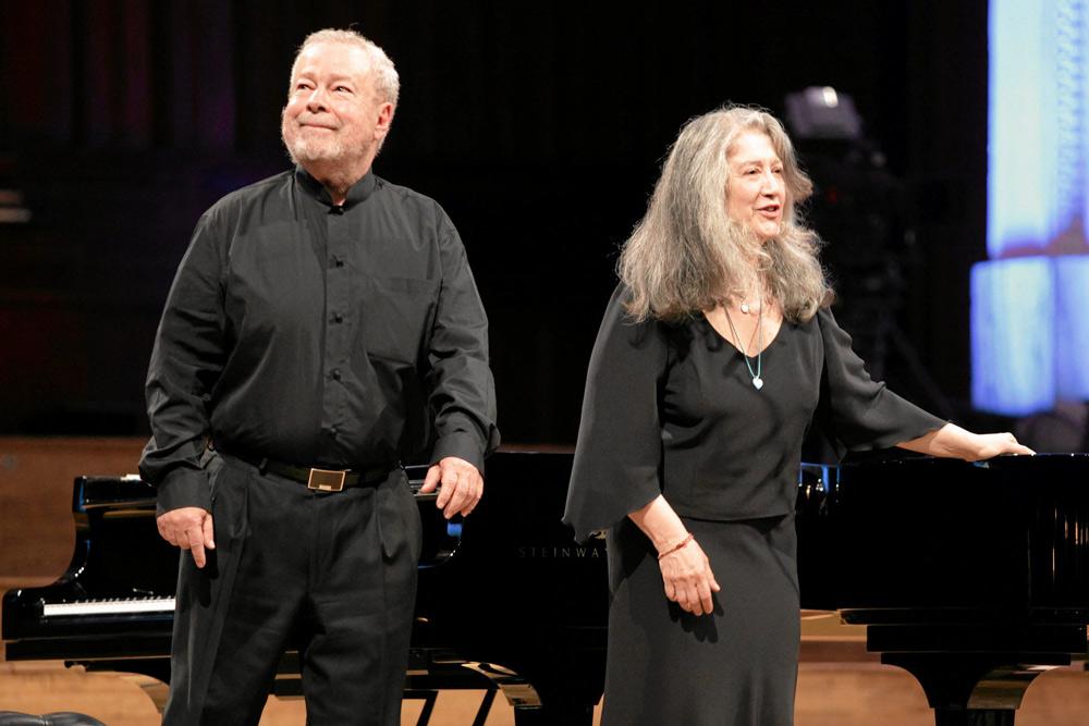 Nelson Freire and Martha Argerich after their concert in 2010. Photo: Adam Kozak / Agencja Gazeta