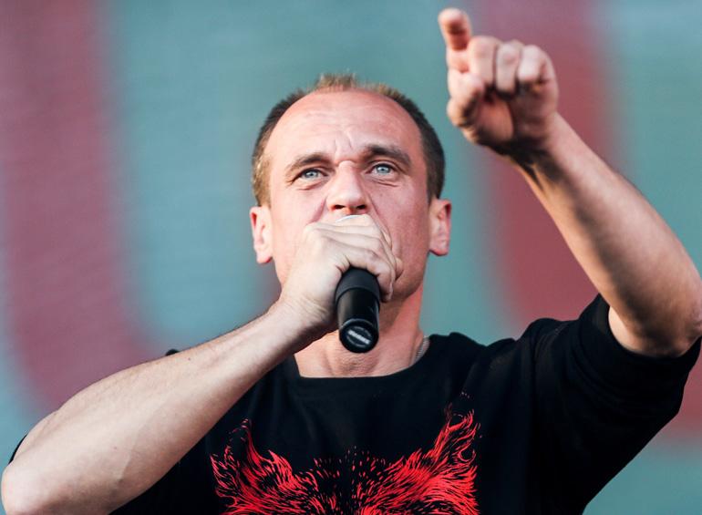 Paweł Kukiz during running for president, photo by Karolina Misztal / Reporter