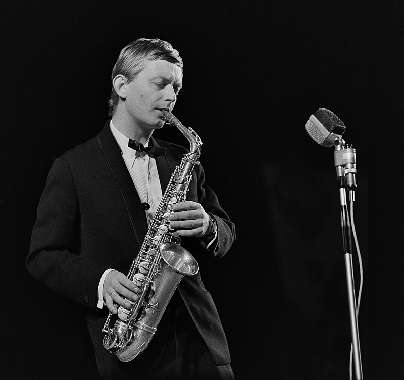Zbigniew Namysłowski at the Jazz Jamboree in 1966, photo:  Tadeusz Wackier / FORUM