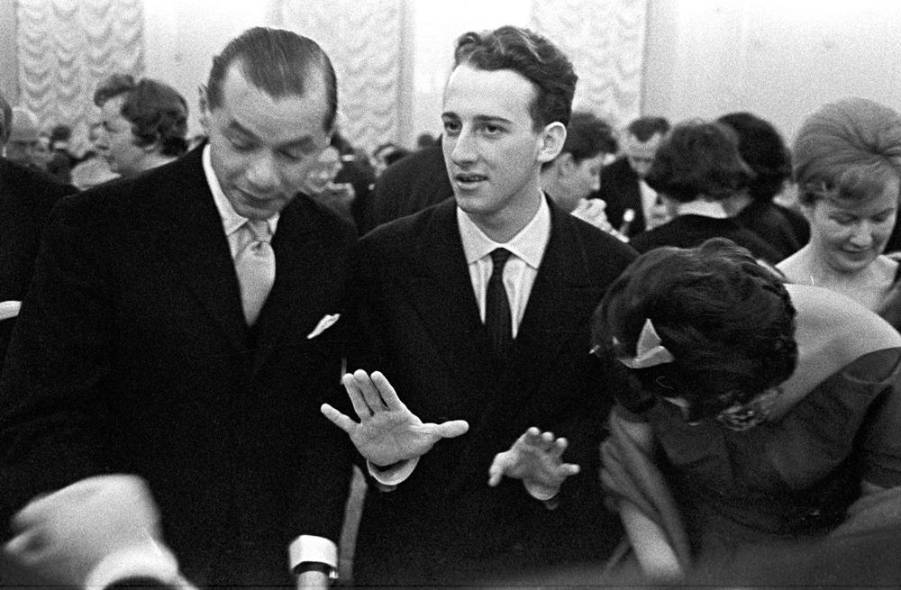 Maurizio Pollini, Chopin Competition 1960, photo: Tadeusz Rolke / Agencja Gazeta