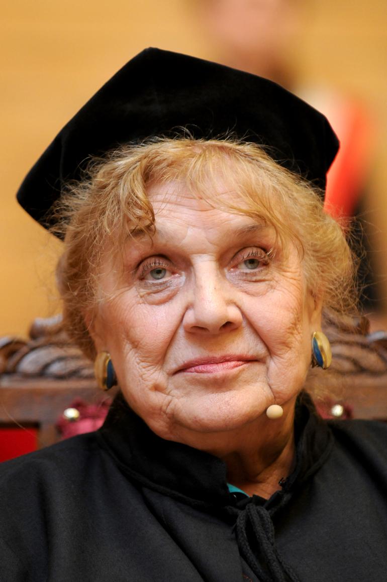 Irena Poniatowska. Photo: Tytus Żmijewski / Forum