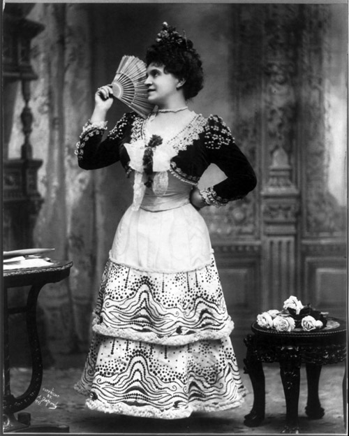 Marcella Sembrich as Rosina, photo: wikimedia