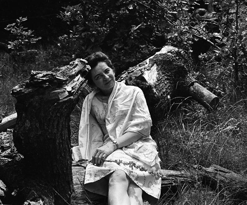 Grażyna Bacewicz, 1968, fot. Irena Jarosińska / Forum