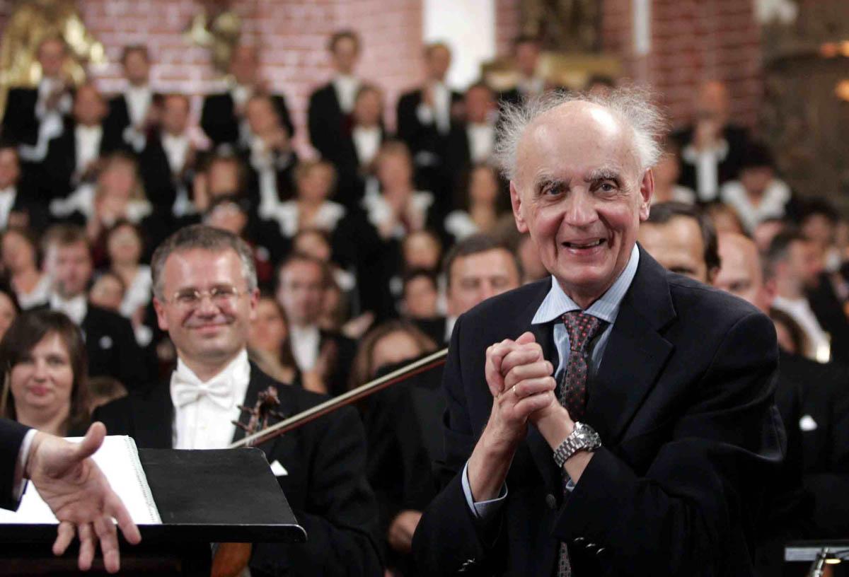 Wojciech Kilar, Wrocław, 2005, fot. Bartek Sadowski / Forum