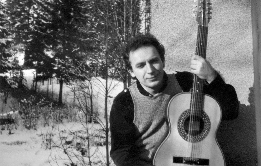 Edward Stachura, Ciechocinek, ok. 1968, fot. Zbiory Muzeum Literatury / East News
