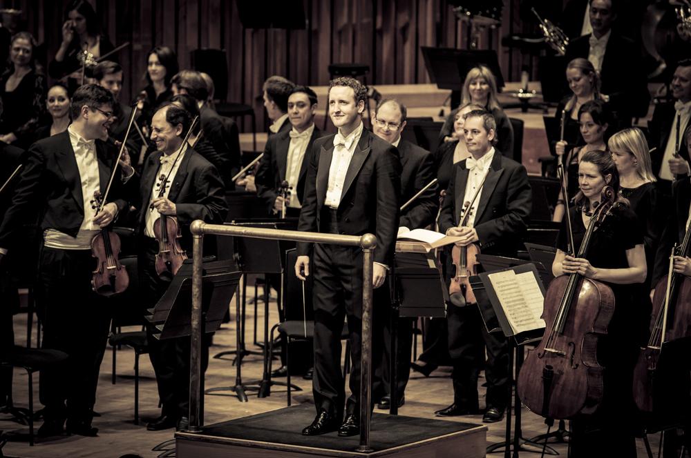 Koncert Londyńskiej Orkiestry Symfonicznej (LSO), pod batutą Michaela Francisa w londyńskim Barbican Centre zainaugurował muzyczny rok Andrzeja Panufnika, Londyn 2014, fot. Konrad Ćwik