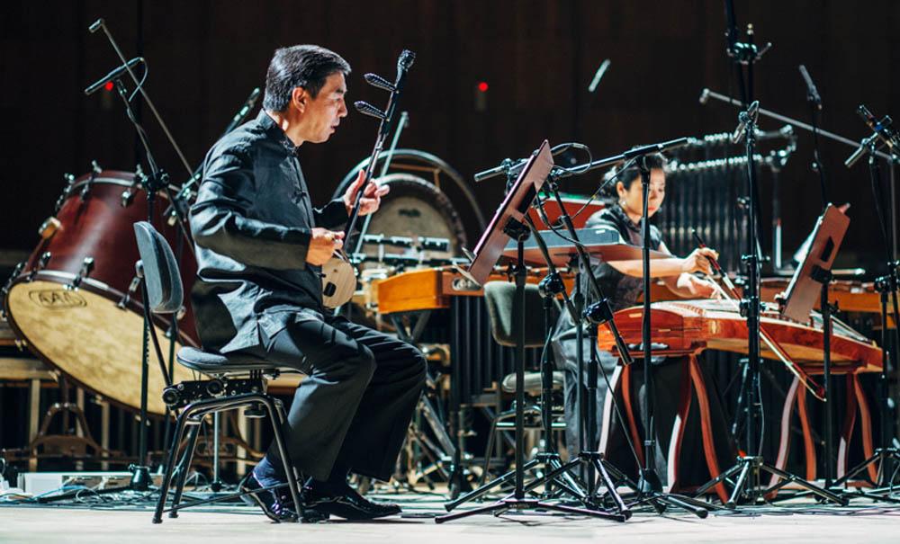 Zdjęcie z koncertu Forbidden City Chamber Orchestra, fot. Warszawska Jesień