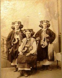 Hucułki, fotografia z przełomu XIX i XX wieku, fot. materiały prasowe