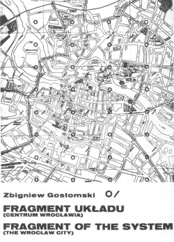 Zbigniew Gostomski It begins in Wroclaw courtesy of the artist