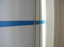 Edward Krasiński Blue line / Niebieska linia Foksal Gallery