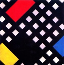 Theo van Doesburg, Counter-composition XV, 1925