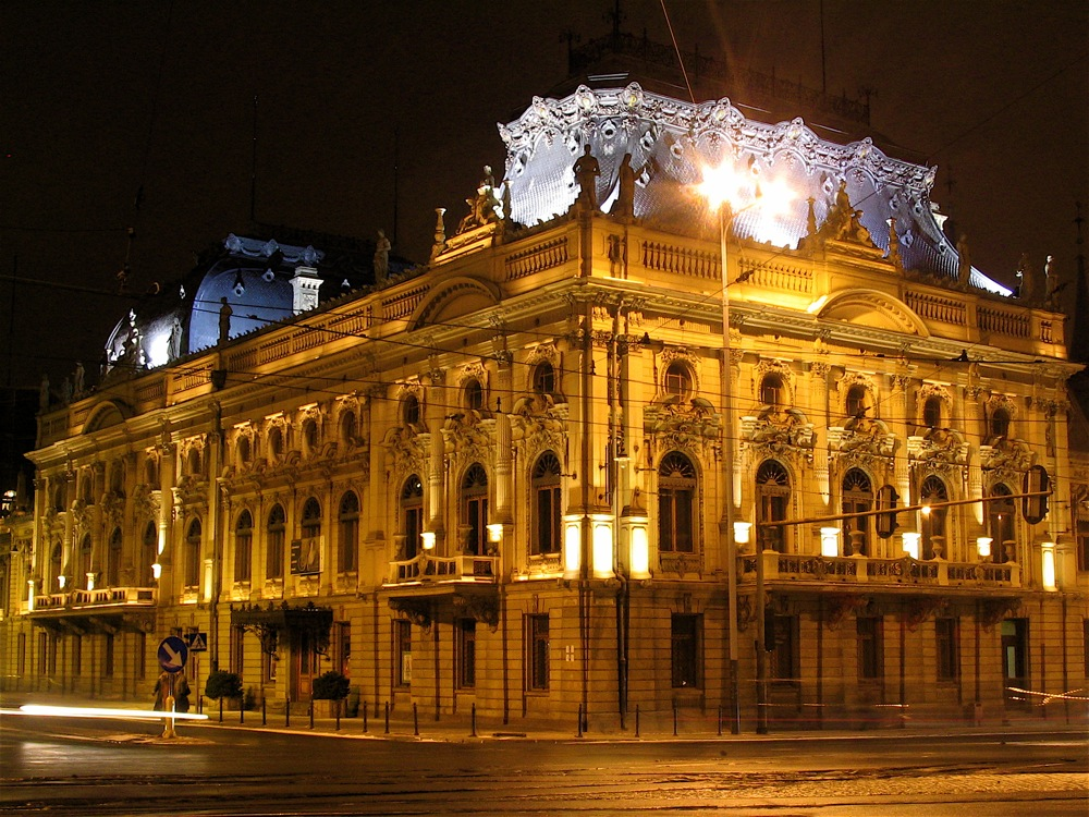 Pałac Izraela Poznańskiego, Siedziba Główna Muzeum Miasta Łodzi, fot. Jakub Zasina / wikipedia.org