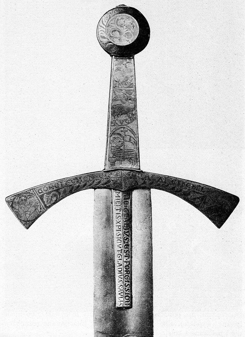 """Rękojeść """"Szczerbca"""", fot.: wikipedia.org"""