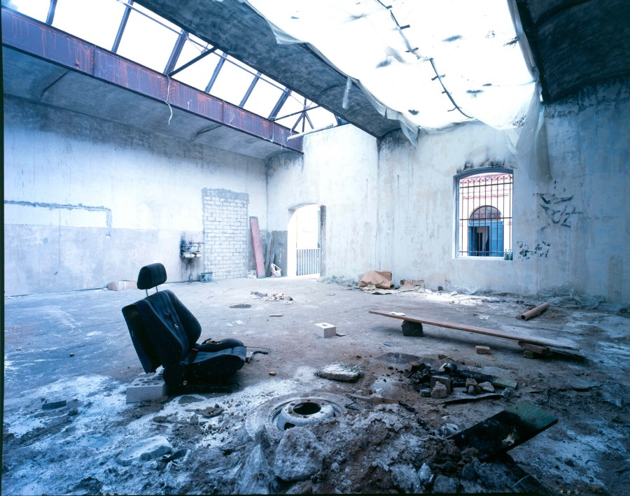 Neugerriemschneider Gallery, Berlin, photo courtesy of The Foksal Gallery Foundation