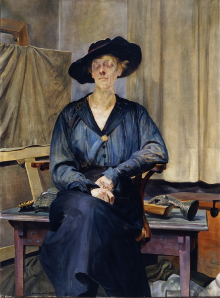 Jacek Malczewski,Portrait of artist's wife, 1920, oil on canvas, photo: Regional Museum in Bydgoszcz
