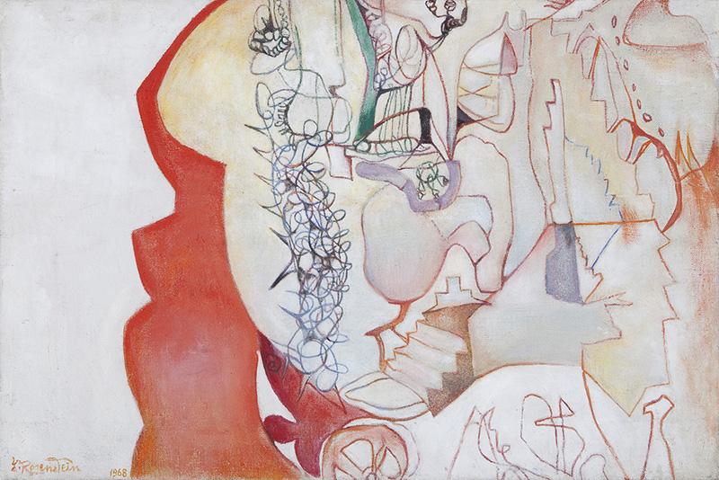 """Erna Rosenstein, """"Promieniowanie ciszy"""", 1984, z Kolekcji Grażyny Kulczyk., fot. materiały prasowe organizatora"""