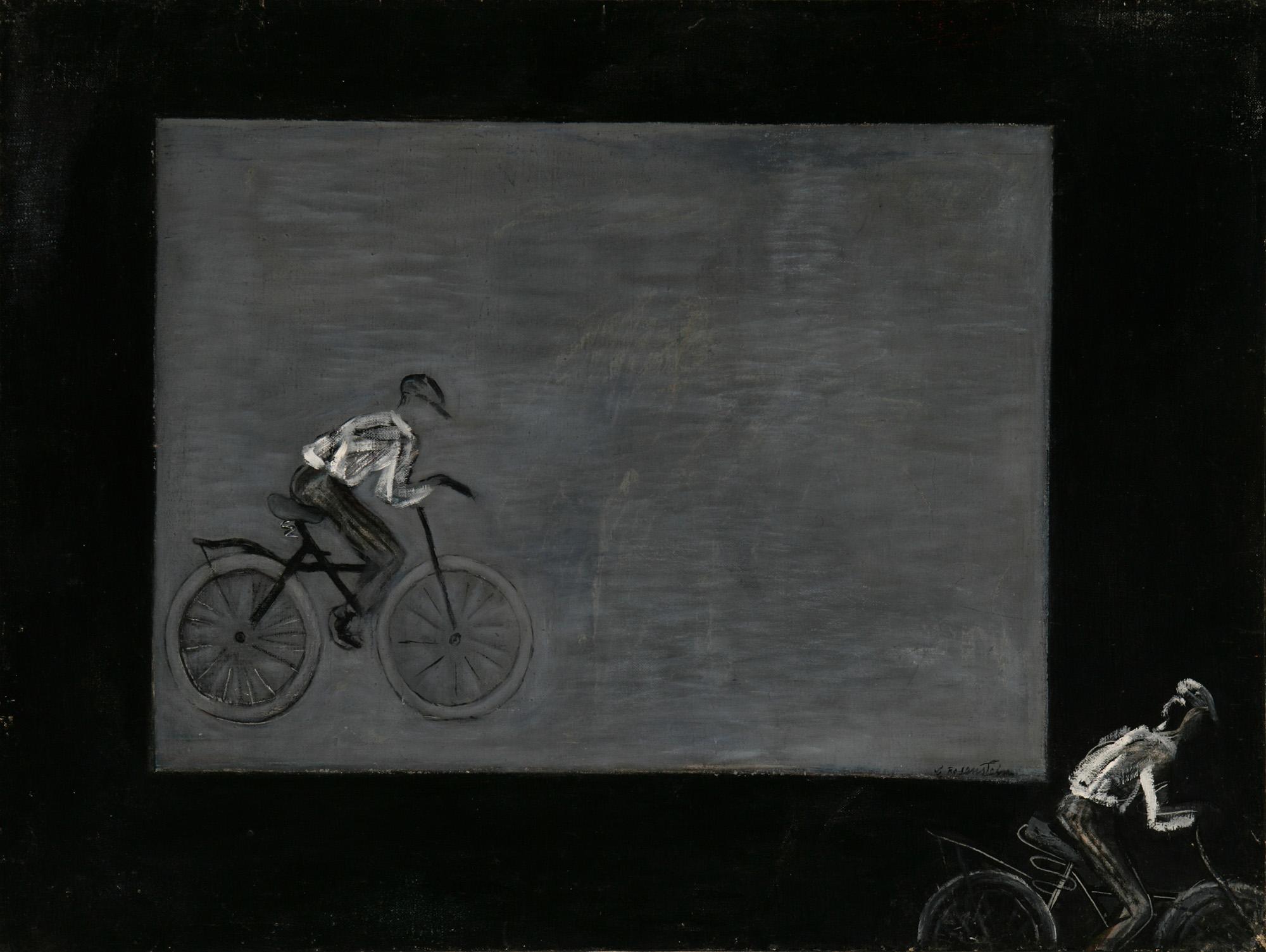 """Erna Rosenstein, """"Rowerzyści"""", 1951, z Kolekcji Grażyny Kulczyk., fot. materiały prasowe organizatora"""
