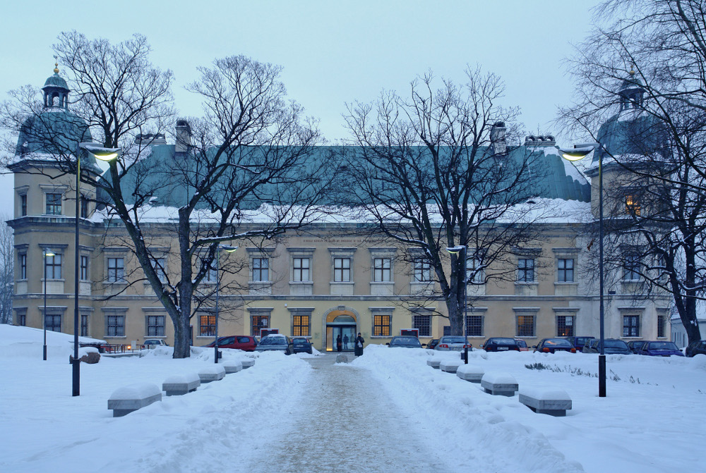 The Centre for Contemporary Art at Ujazdowski Castle in Warsaw, photo: courtsy of CCA