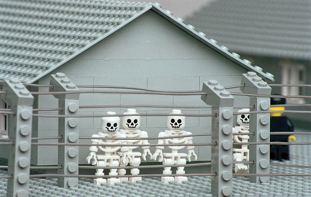 """Zbigniew Libera, """"Lego. Concentration Camp"""", 1996, photo: courtesy of Raster Gallery"""
