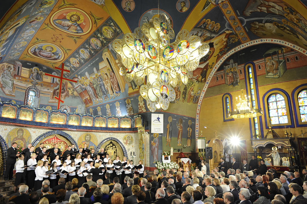 Miedzynarodowy Festiwal Hajnowskie Dni Muzyki Cerkiewnej, fot. Andrzej Sidor/Forum