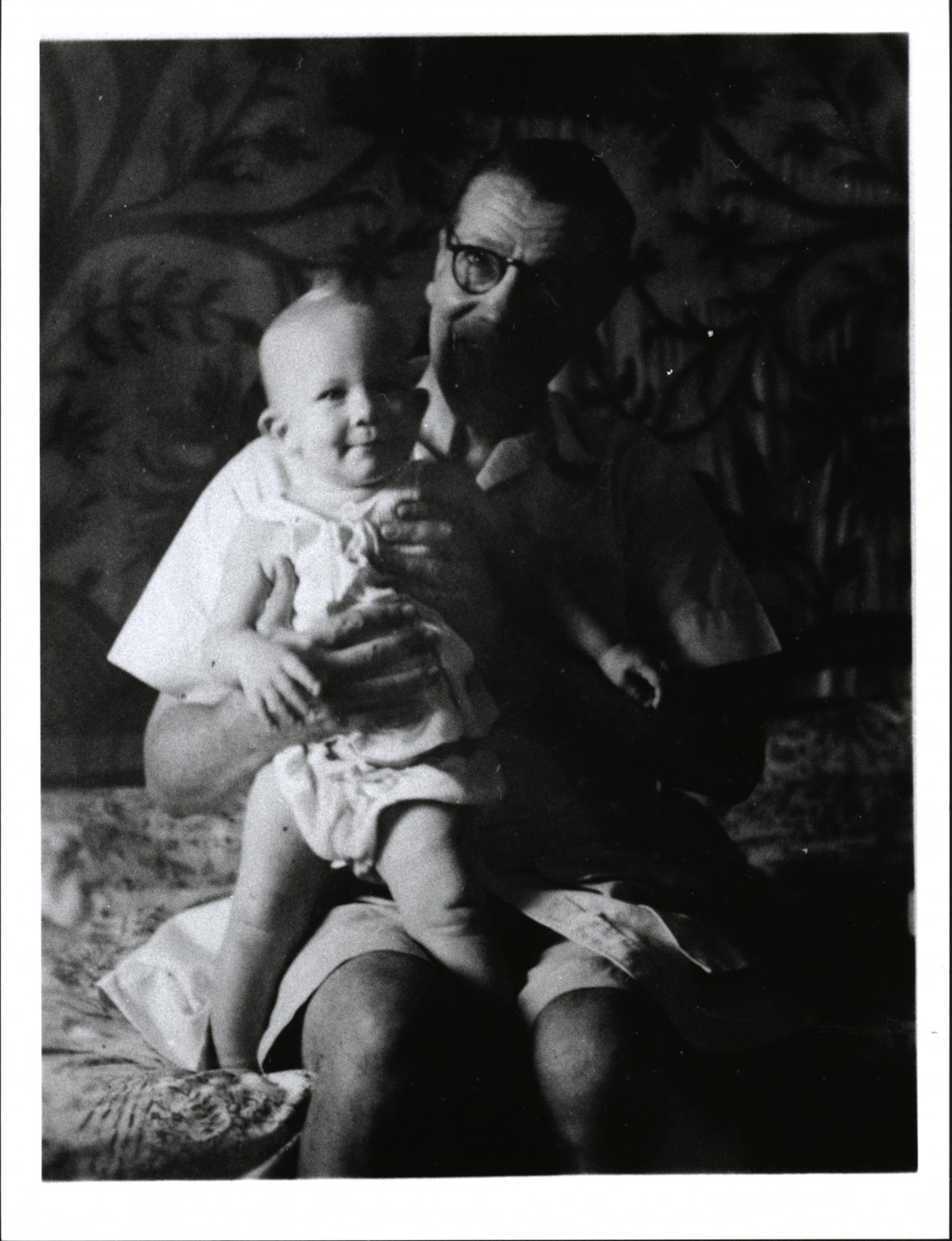 Stefan Norblin with his son Andrew, photo: Regional Museum in Stalowa Wola
