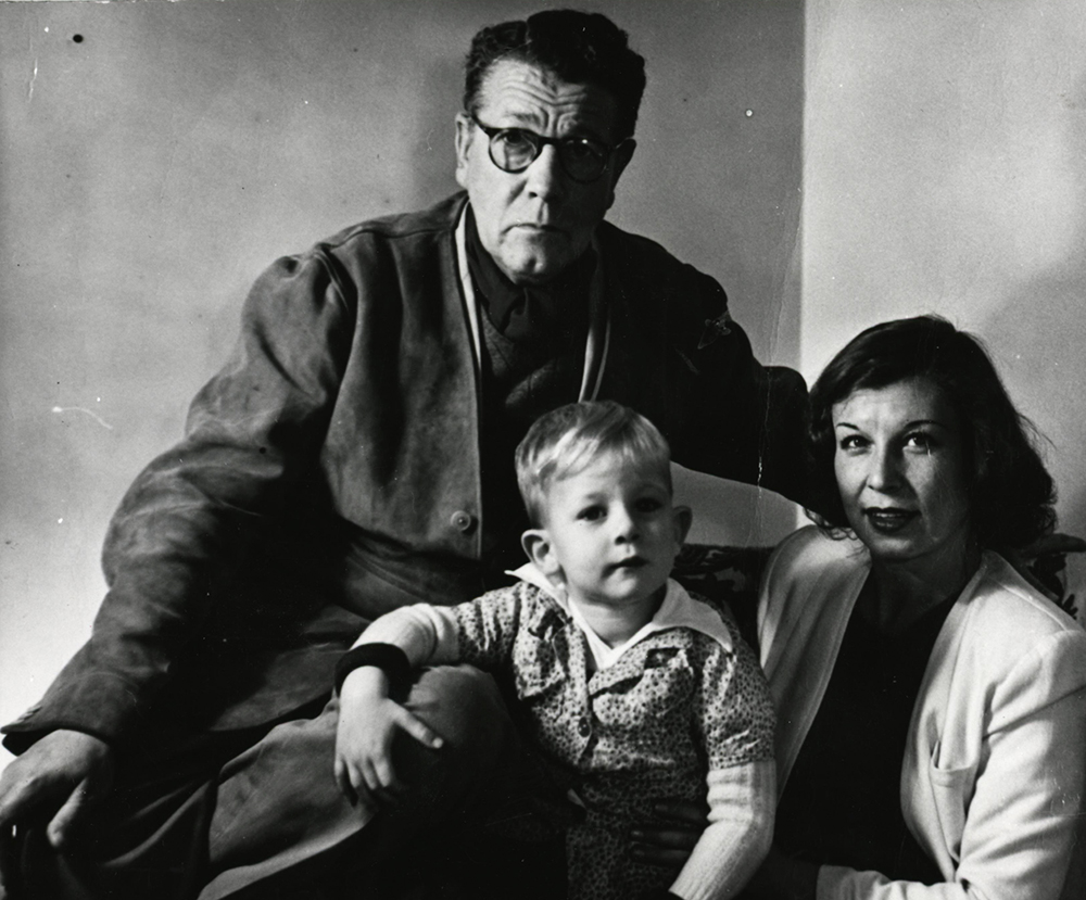 Stefan Norblin with his wife and son, photo: Regional Museum in Stalowa Wola