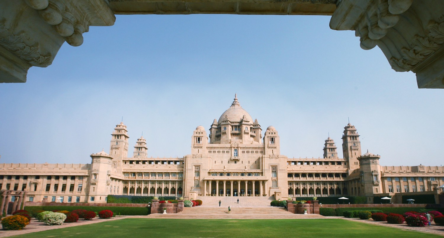 Umaid Bhawan Palace, India, photo: Vijay Mathur/Reuters/Forum