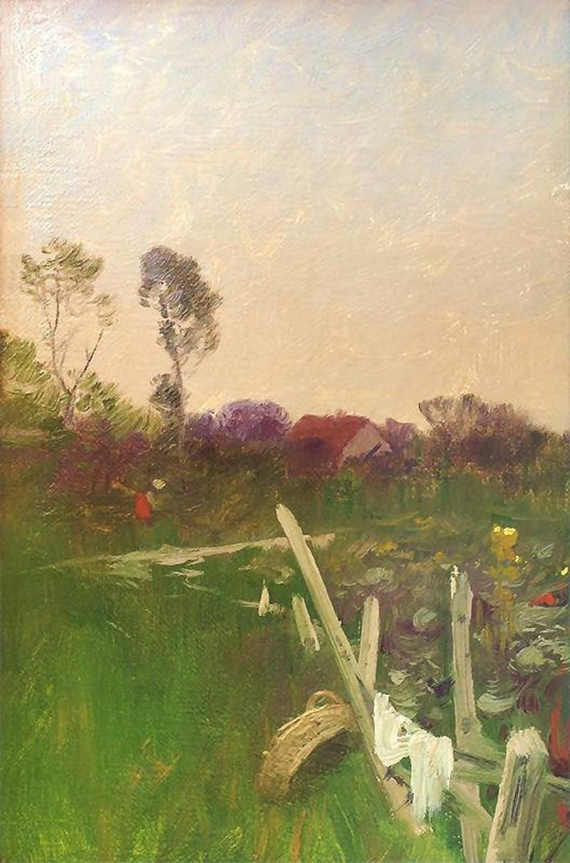 'Wiosna' (Spring) by Roman Kochanowski, circa 1900, photo: pinakoteka.pl