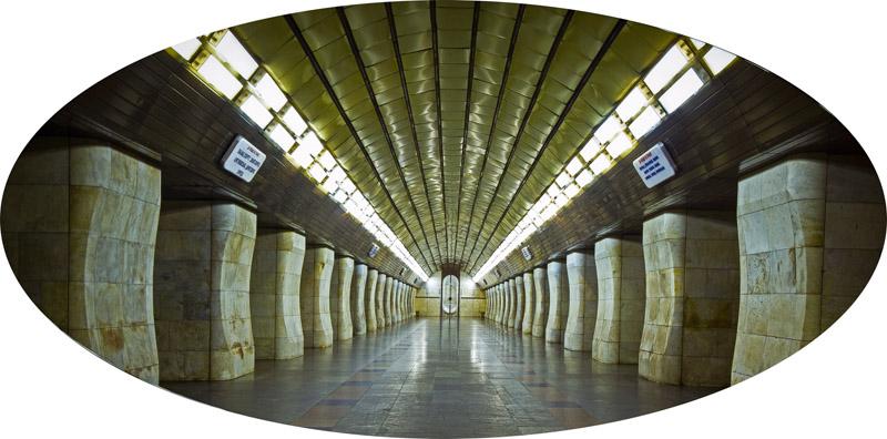"""Piotr Wyrzykowski, """" Polowanie na człowieka"""" , 2006, 4 lightboxy, 75 x 150 x 21,5 cm,  p raca pochodzi z Kolekcji II Galerii Arsenał w Białymstoku, fot. dzięki uprzejmości Galerii Arsenał"""