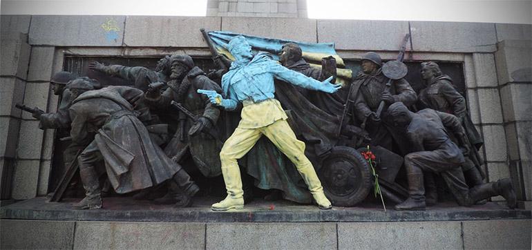 Pomnik Armii Czerwonej w Sofii, Bułgaria, fot. Vassia Atanassova / CC / Wikimedia