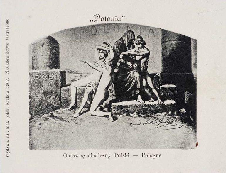 Bitwa z cyklu Polonia, 1888, w zbiorach Muzeum Narodowego w Warszawie