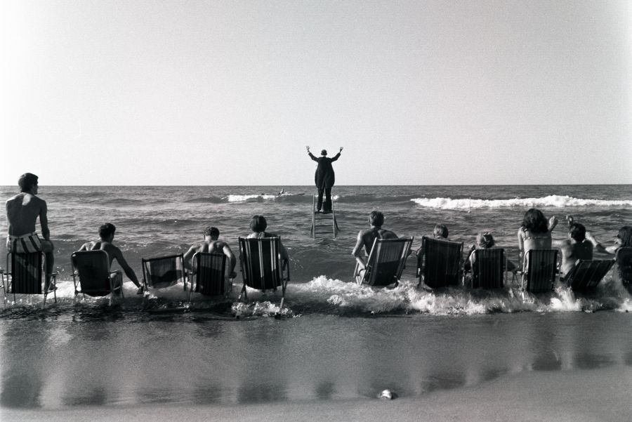 Eustachy Kossakowski, Sea Concert (Panoramic Sea Happening), 1967; © Anka Ptaszkowska; negatives and slides are the property of the Museum of Contemporary Art in Warsaw