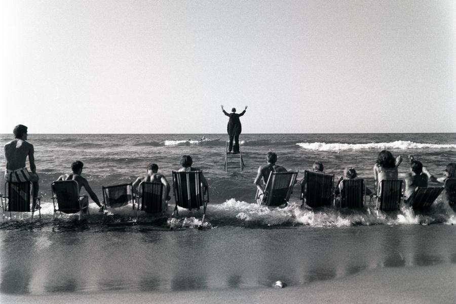 Panoramic Sea Happening Tadeusz Kantor Performing