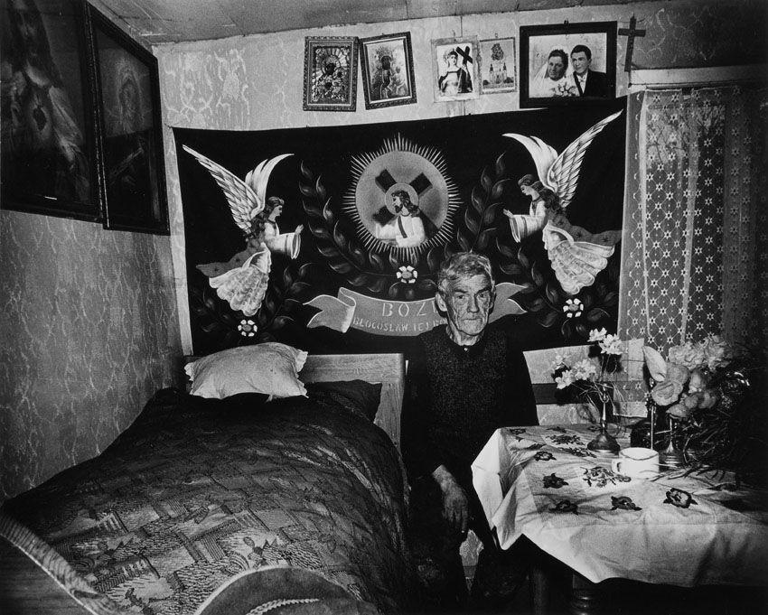 "Zofia Rydet, fotografia z cyklu ""Zapis socjologiczny"", 1978-1990, fot. z kolekcji Fundacji im. Zofii Rydet"