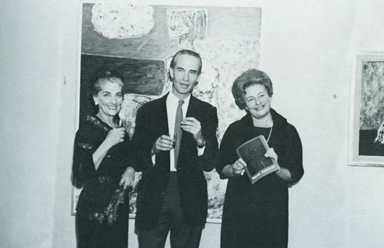 Marek Żuławski with Halina Korn and Halima Nałecz, photo: University Museum in Toruń