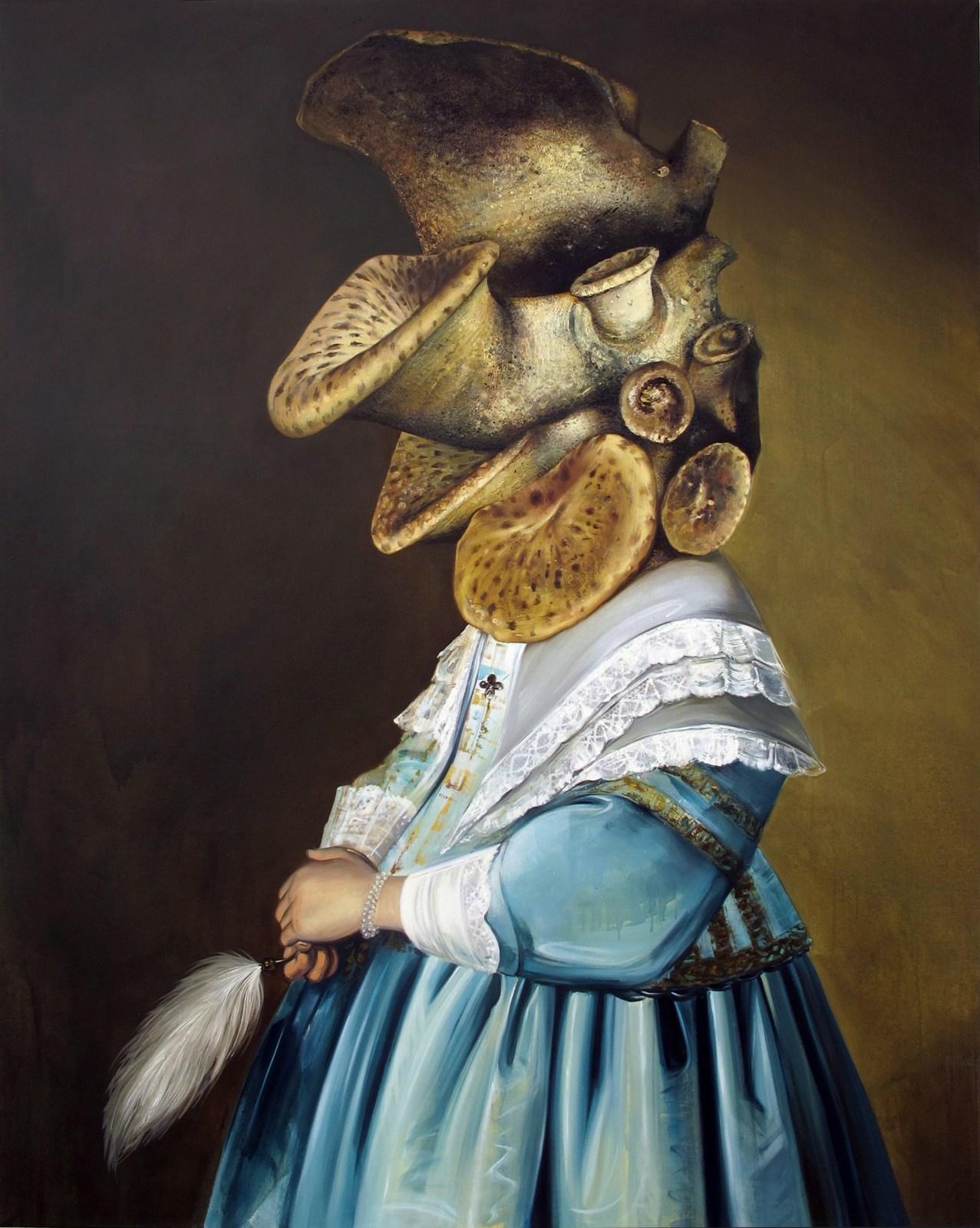 Ewa Juszkiewicz, Girl in Blue, 2013, fot. dzięki uprzejmości lokalu 30 i artystki