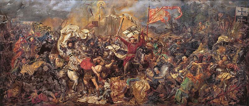"""Jan Matejko, """"Bitwa pod Grunwaldem"""", 1878, olej na płótnie, 426 x 987 cm, wł. Muzeum Narodowego w Warszawie, fot. dzięki uprzejmości MNW"""