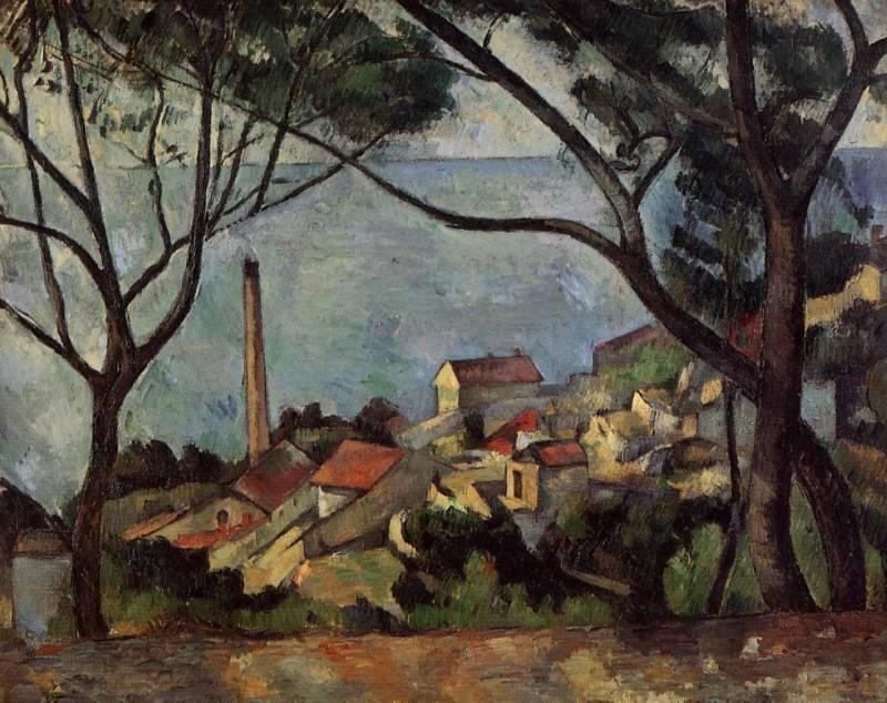 Картина Сезанна «Море в Эстаке» была написана в том же году (1878), что и «Грюнвальдская битва» Матейко