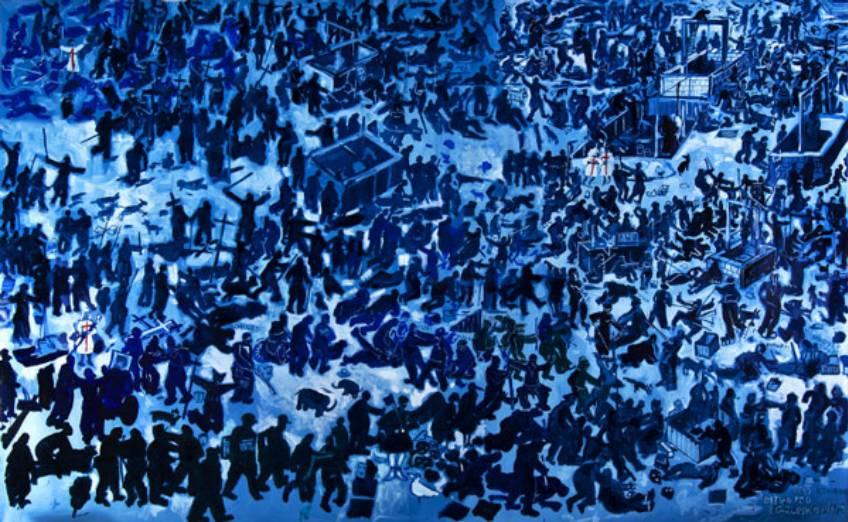 «Грюнвальдская битва» Эдварда Двурника в 2010 году была показана на Вавеле.