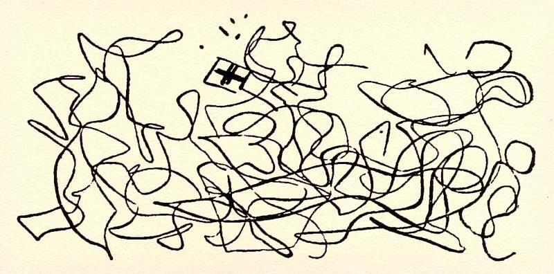 Станислав Выспяньский, карикатура «Грюнвальдской битвы» Матейко
