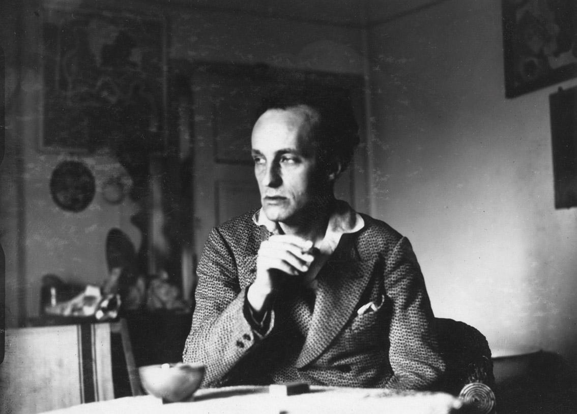 Władysław Strzemiński, 1932, fot. Narodowe Archiwum Cyfrowe (NAC)