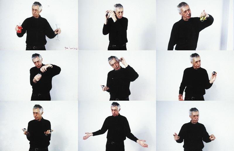 """Jan Świdziński, """"Gesty"""", fragment, 2002, kolekcja Lubelskiego Towarzystwa Zachęty sztuk Pięknych, fot. www.zacheta.lublin.pl"""