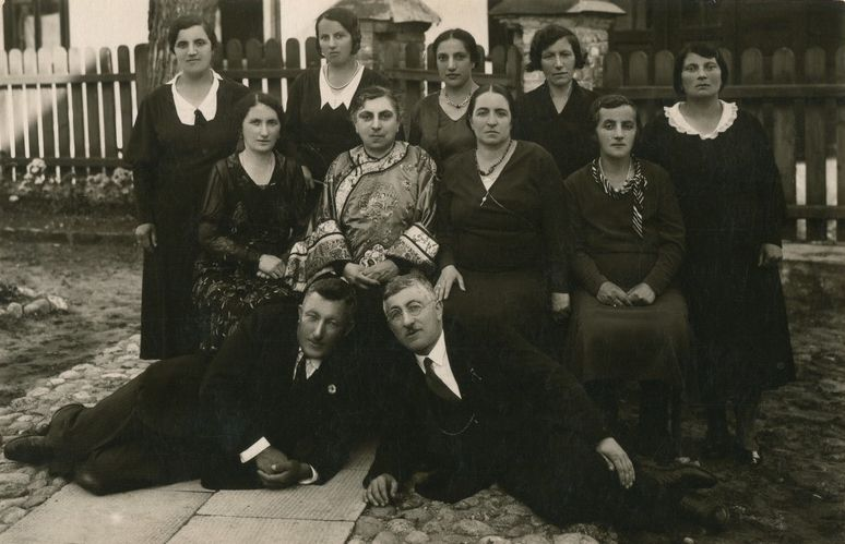 Halicz Karaites Group in Vilnius, c. 1933, photo archive of the Association of Polish Karaites