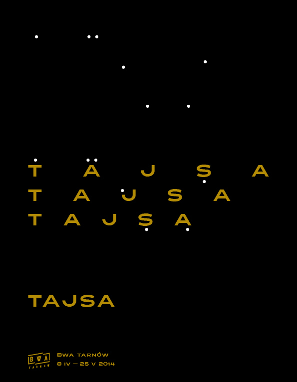 Tajsa exhibition poster