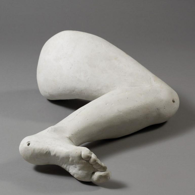"""Alina Szapocznikow """"Noga"""", 1962, fot. dzięki uprzejmości Instytutu Polskiego w Tel Awiwie"""