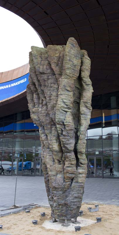 Ursula von Rydingsvard, 'She / Ona', photo: Jeff Mermelstein