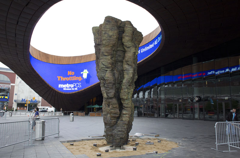 "Ursula von Rydingsvard, ""Ona"", photo: Jeff Mermelstein"