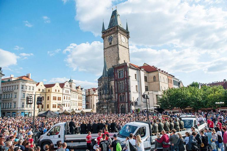 Zdjęcie z Ekspozycji Narodowej podczas 13. Praskiego Quadriennale, fot. materiały prasowe