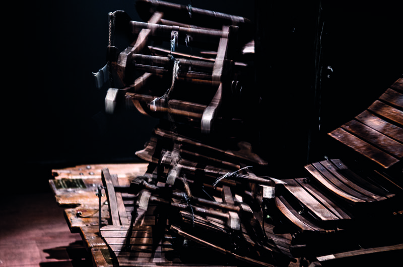 Tadeusz Kantor, Annihilation Machine, 1963/1982. Photograph: Ines Correa